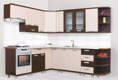 Кутова кухня 15