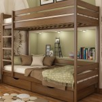 Ліжко деревяне Дует