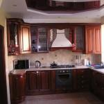 Кухня вільха (фасад дерево)-002