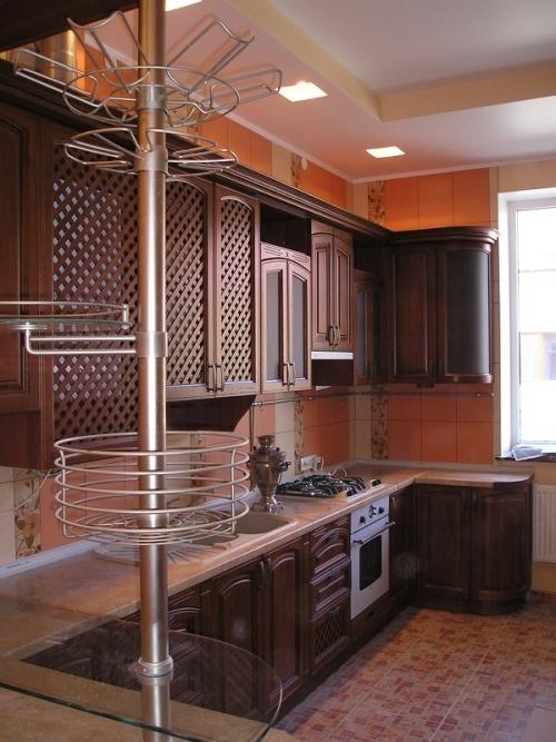 Кухня вільха (фасад дерево)-004